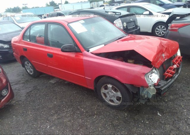 Inventory #473090333 2002 Hyundai ACCENT