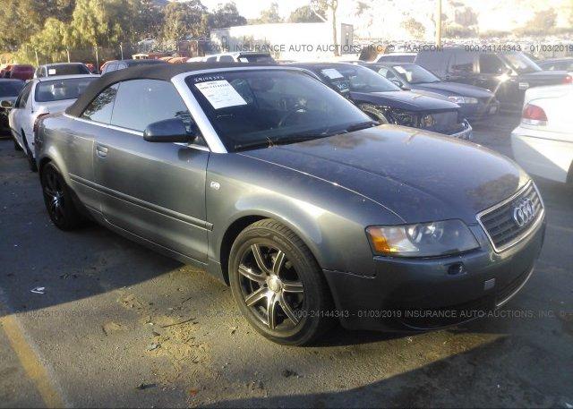 Inventory #302741945 2004 Audi A4
