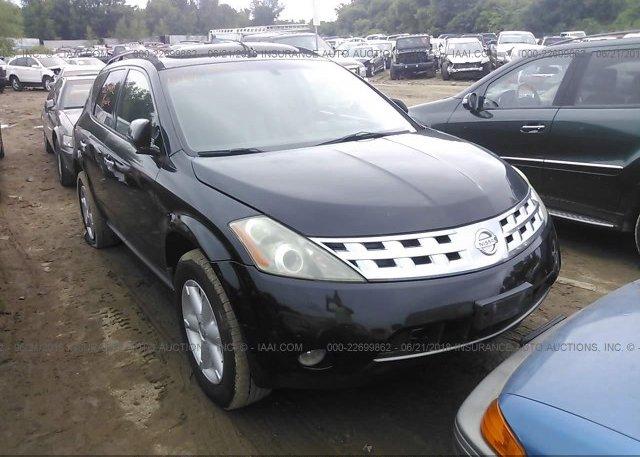 Jn8az08w74w305893 Parts Only Bos Black Nissan Murano At Faribault