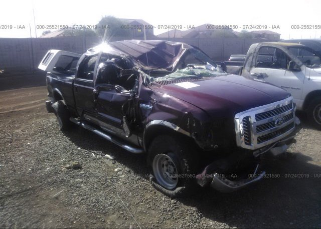 Inventory #558500262 2005 FORD F350