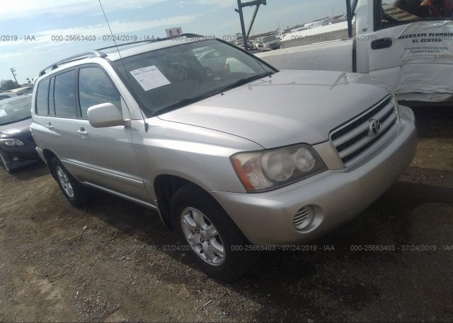 Inventory #109810807 2002 Toyota HIGHLANDER