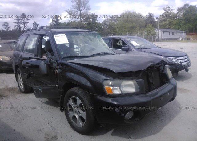Inventory #866491640 2004 Subaru FORESTER