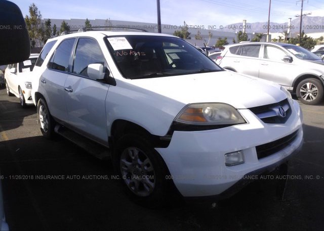 2HNYD18926H516892 Salvage Certificate White Acura Mdx At FONTANA