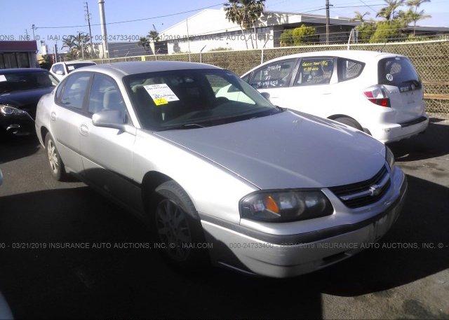Inventory #624611886 2005 Chevrolet IMPALA