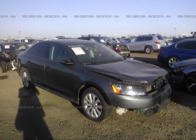Inventory #754226628 2014 Volkswagen PASSAT