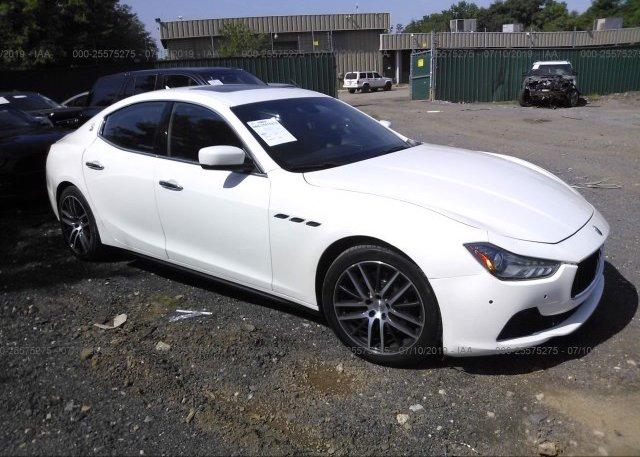 Inventory #774747438 2015 Maserati GHIBLI