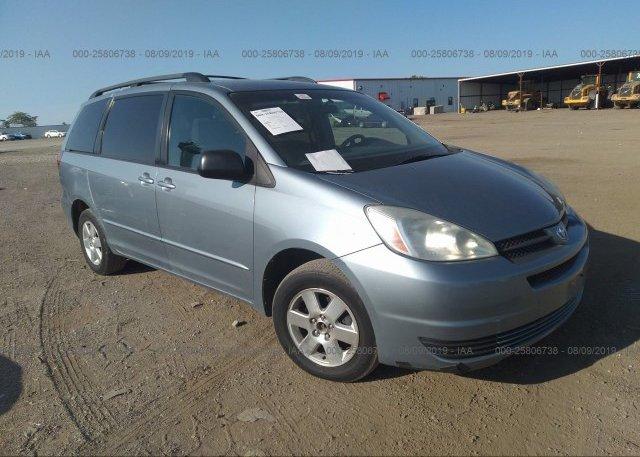 Inventory #829820859 2004 Toyota SIENNA
