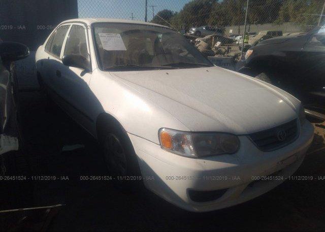 Inventory #137967538 2001 Toyota COROLLA