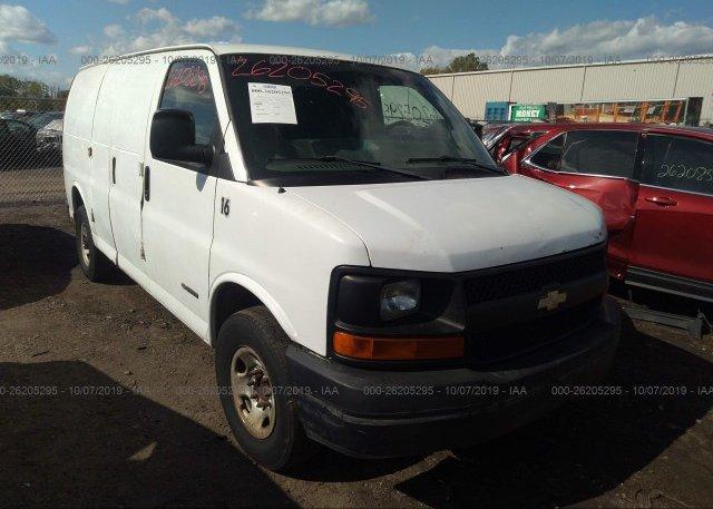 Inventory #763303401 2004 Chevrolet EXPRESS G3500