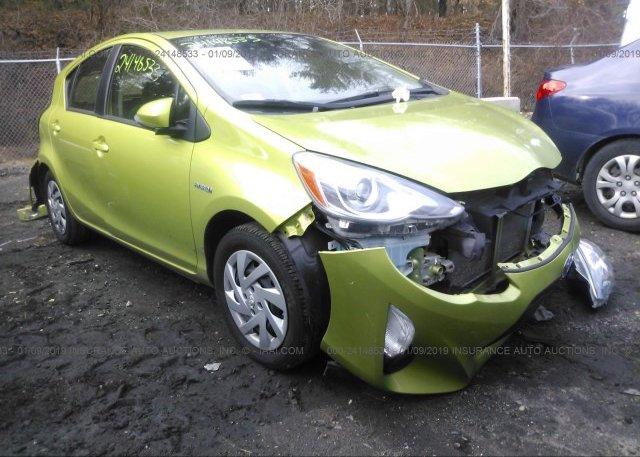 Inventory #546707345 2015 Toyota PRIUS C