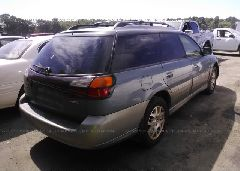 2001 SUBARU LEGACY - 4S3BH806817637831 rear view