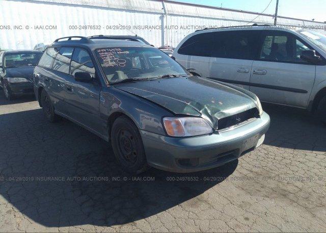 Inventory #356628456 2001 Subaru LEGACY