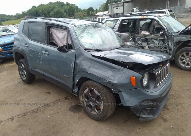 Inventory #815912670 2017 JEEP RENEGADE