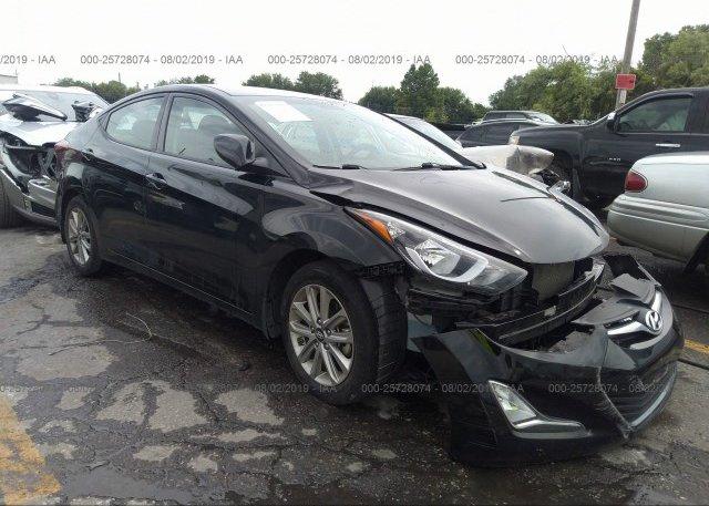 Inventory #393550614 2014 Hyundai ELANTRA