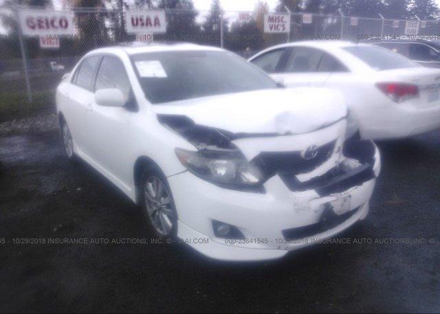 Inventory #832114043 2010 Toyota COROLLA