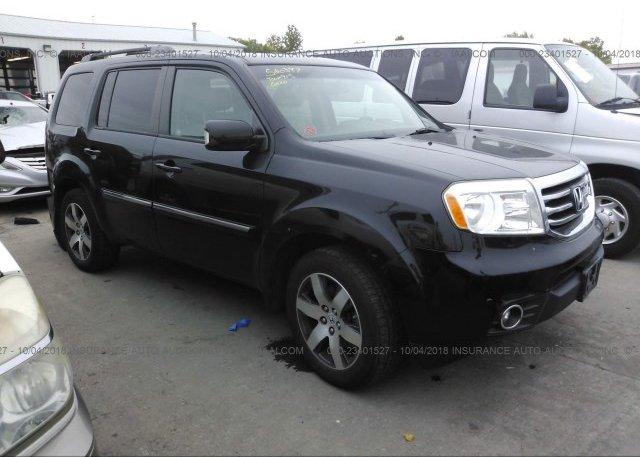 Inventory #223576410 2012 HONDA PILOT