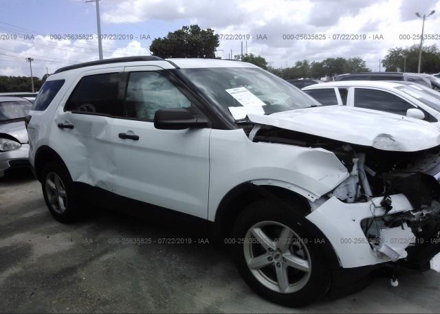 White Ford Explorer >> 2018 Ford Explorer