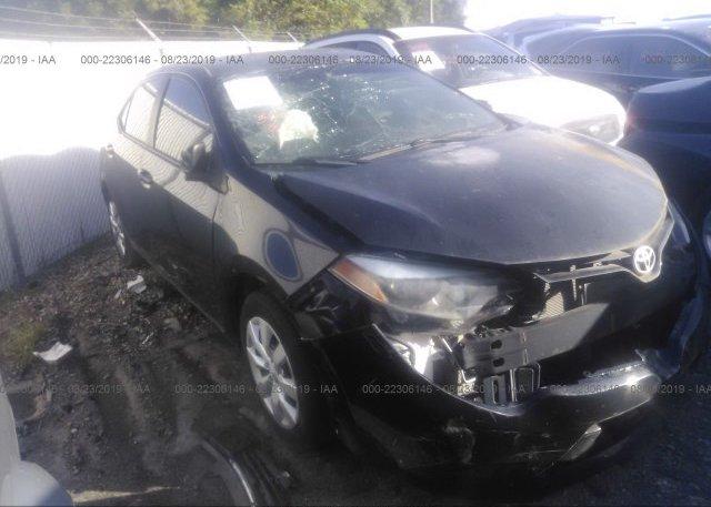 Inventory #887486010 2015 Toyota COROLLA