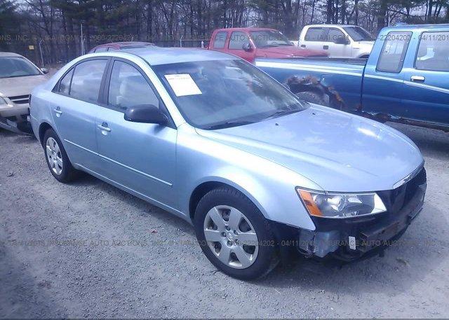 Inventory #348102832 2008 Hyundai SONATA