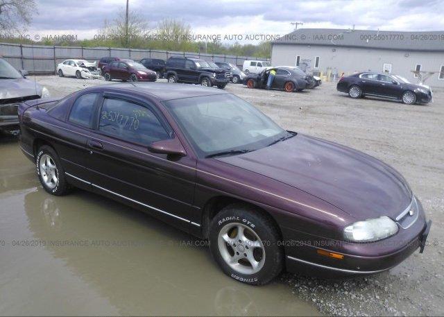 Inventory #569498001 1997 Chevrolet MONTE CARLO