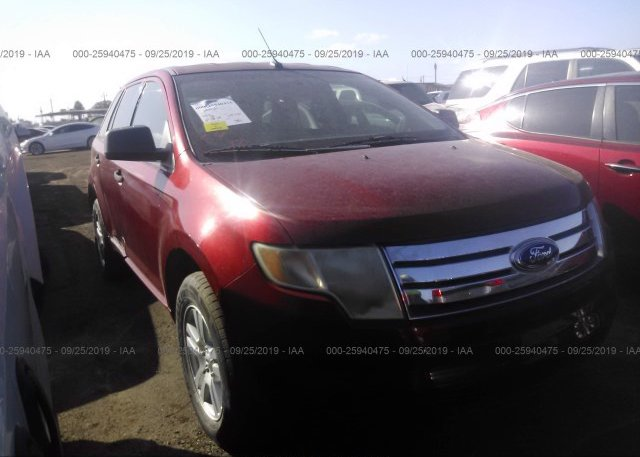 Inventory #896306522 2007 FORD EDGE