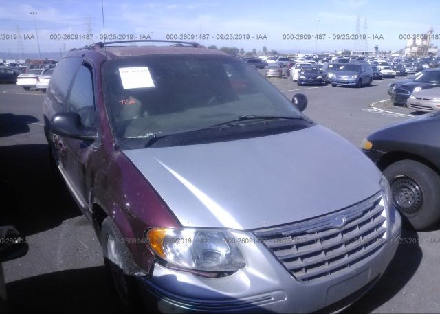 Inventory #863343624 2001 Chrysler TOWN & COUNTRY