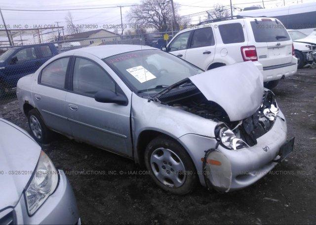 Inventory #688946781 2001 Dodge NEON