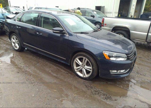 Inventory #823612640 2015 Volkswagen PASSAT