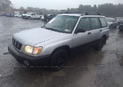2002 Subaru FORESTER - JF1SF635X2H739792 Right View