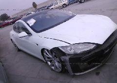 2012 Tesla MODEL S - 5YJSA1DN1CFP01802 Left View