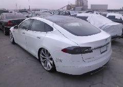 2012 Tesla MODEL S - 5YJSA1DN1CFP01802 [Angle] View