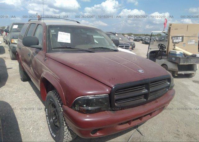 Inventory #579182544 1998 Dodge DURANGO