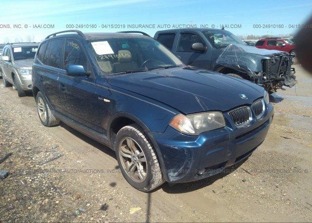 Inventory #734475560 2006 BMW X3