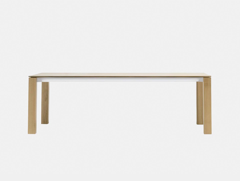 Andreu World Extra Table Oak