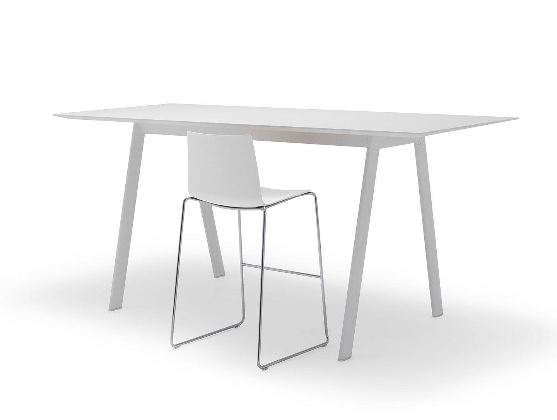Andreu World Radial Table High White