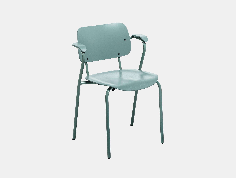 Artek Lukki Chair Sage Green Ilmari Tapiovaara