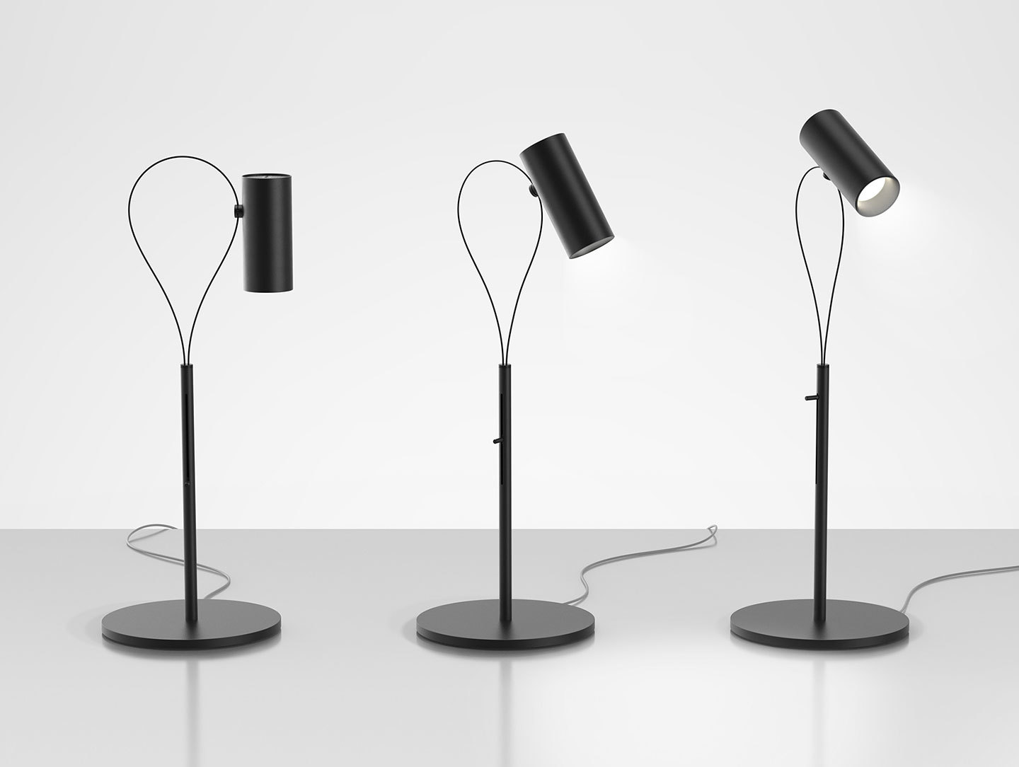 Artemide Souffle Table Lamps Atelier Oi