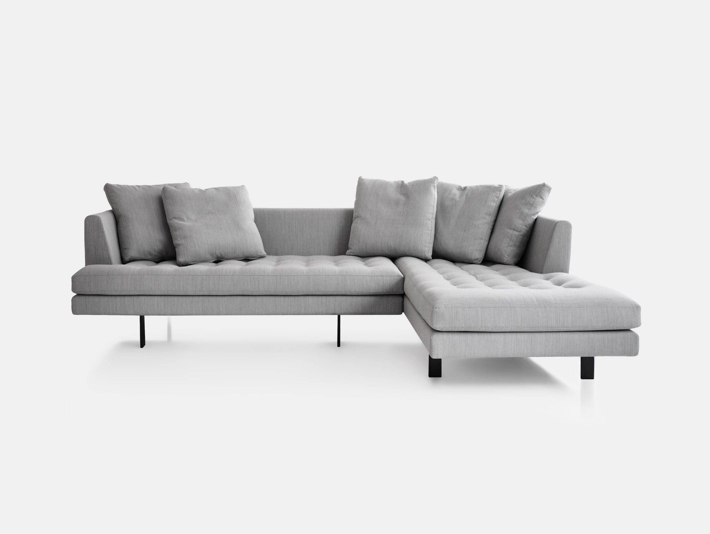 Bensen Edward Sectional Sofa L 265 Right Chaise
