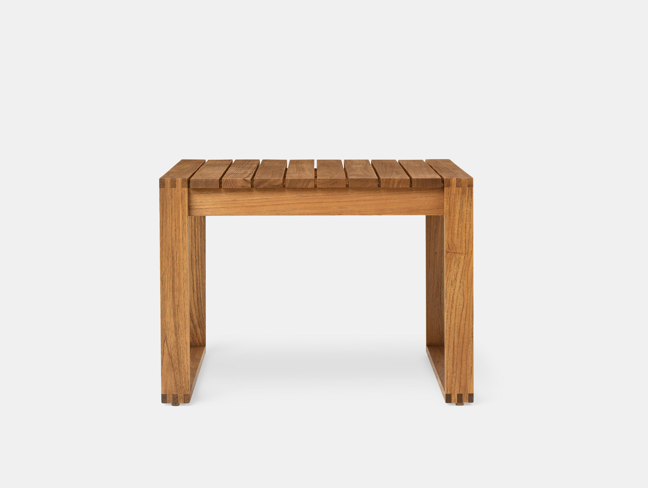 Carl Hansen Bk16 Side Table Teak Bodil Kjaer