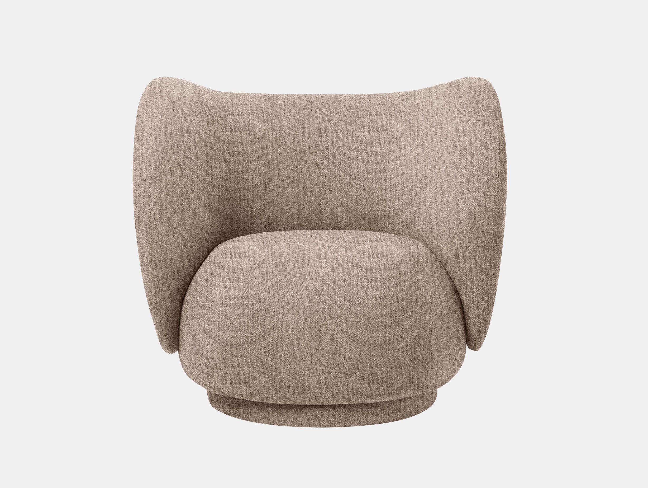Ferm Living Rico Lounge Chair Sand Boucle