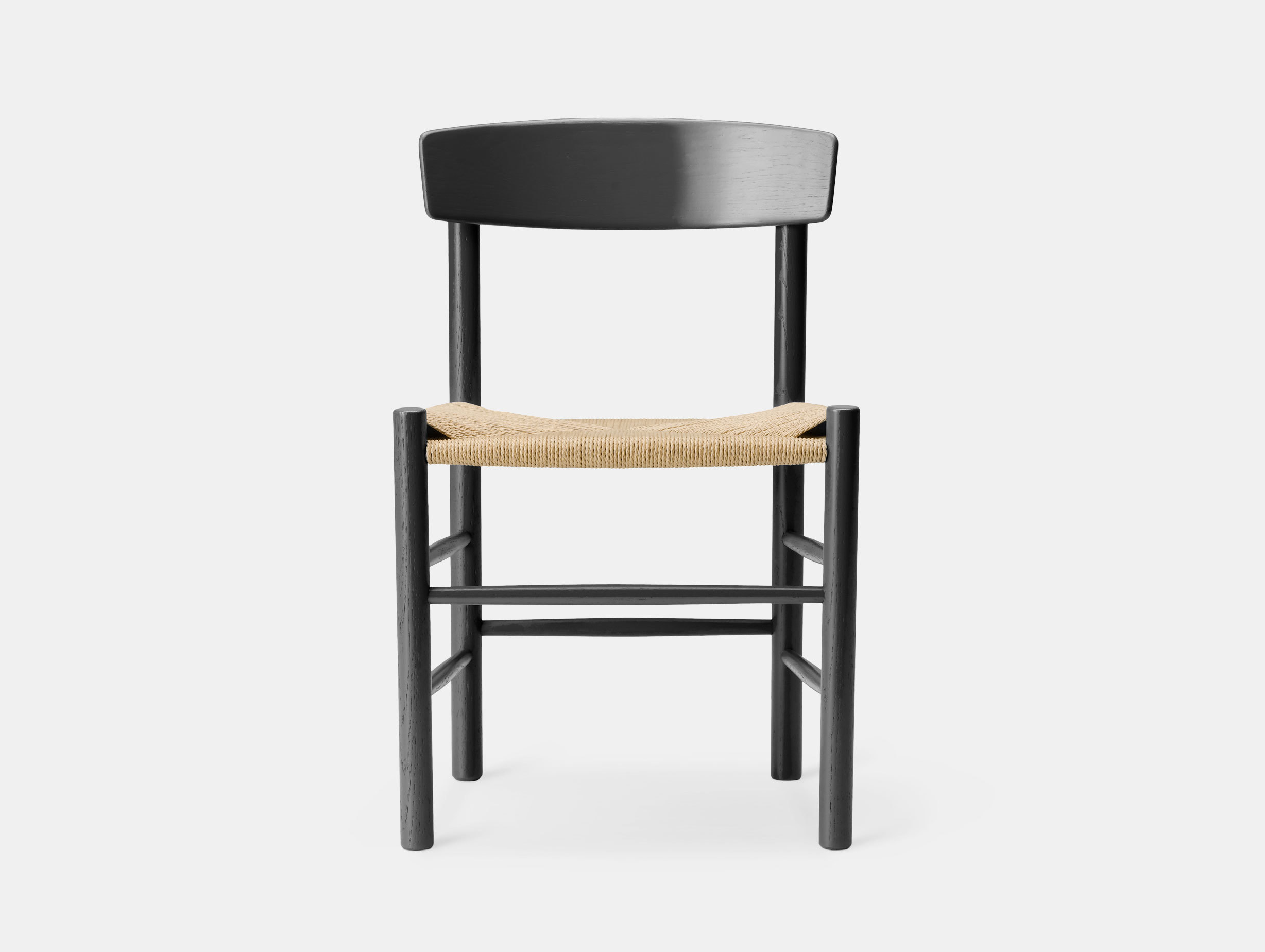Fredericia J39 The Peoples Chair Black Oak Borge Mogensen