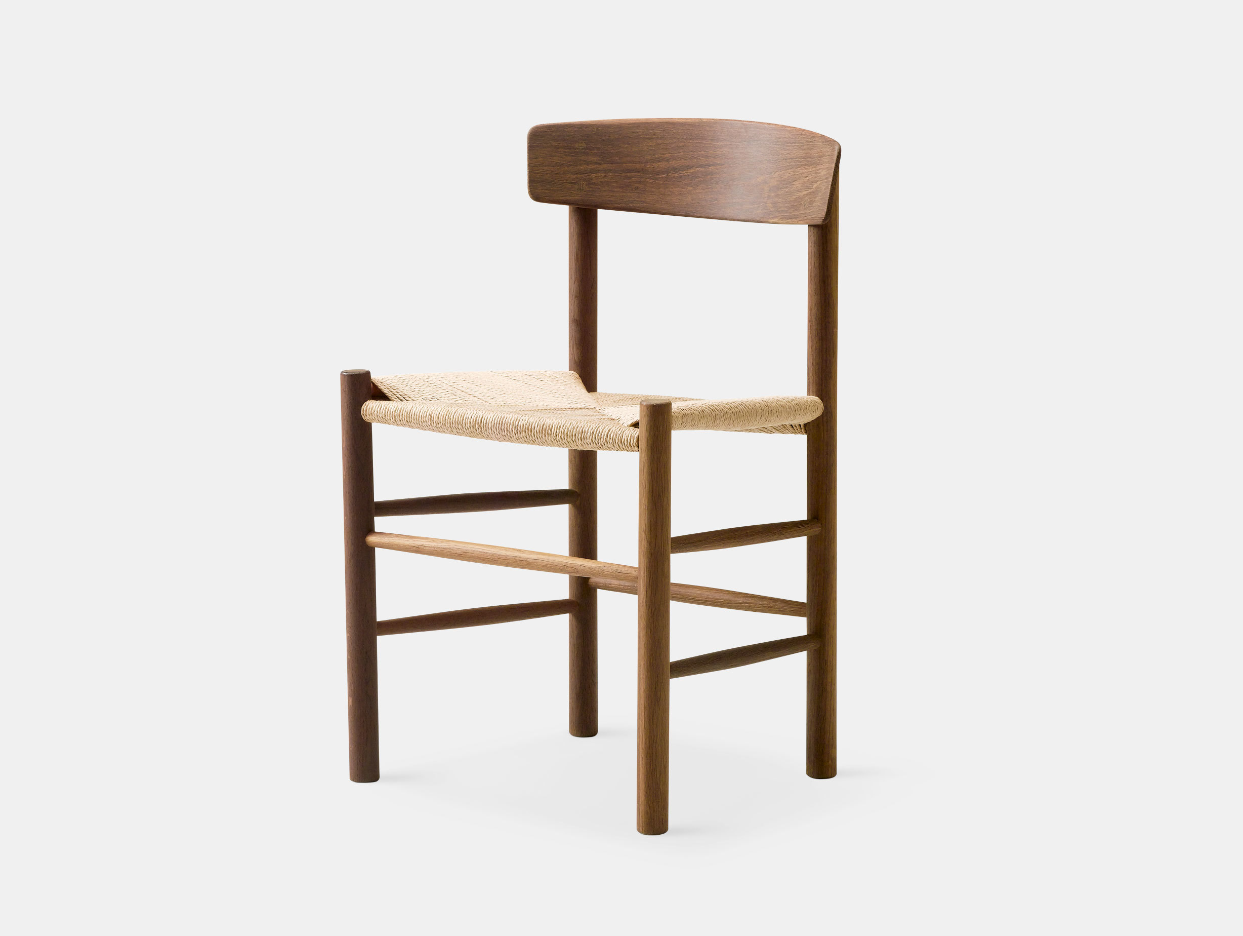 Fredericia J39 The Peoples Chair Smoked Oak Borge Mogensen
