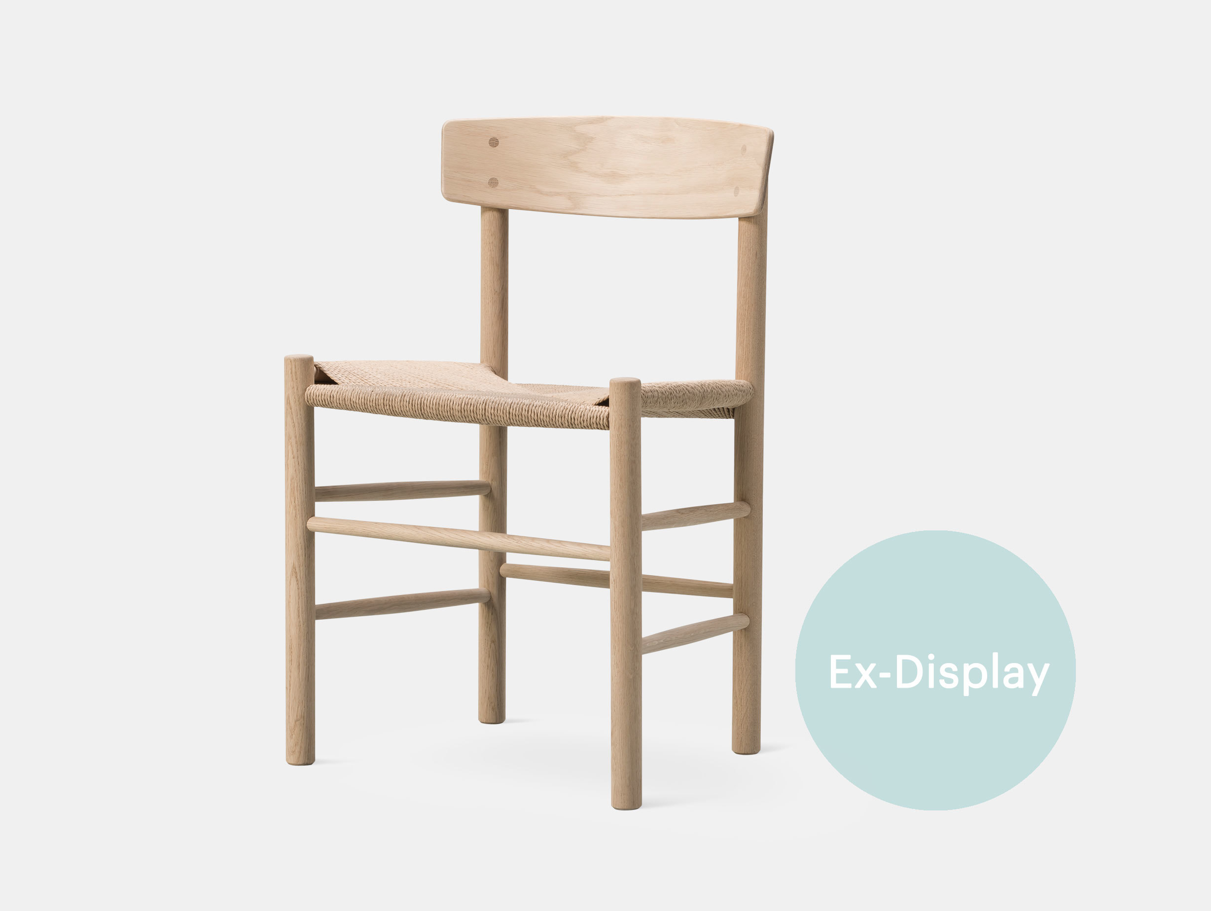Fredericia J39 Chair Oak Ex Display