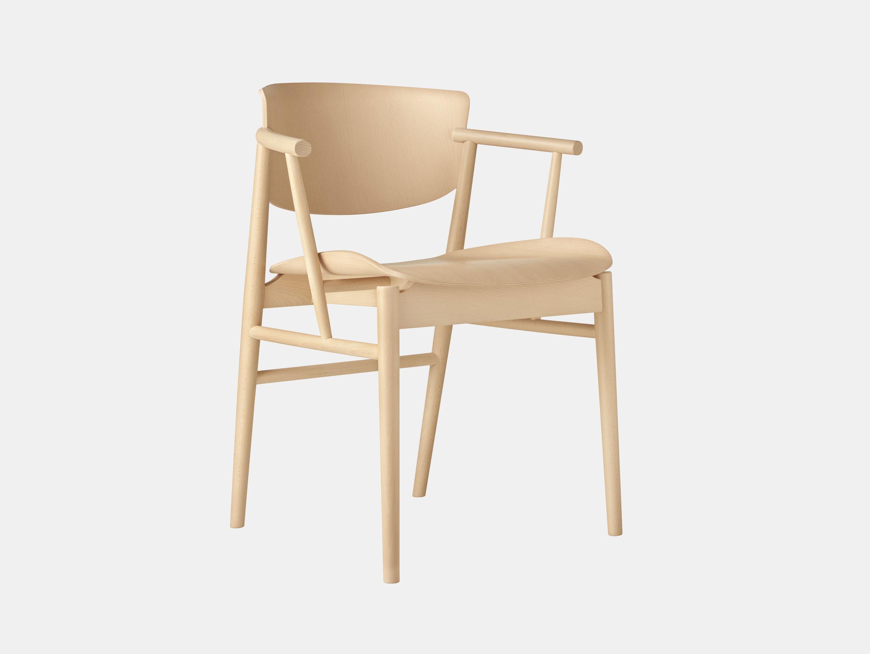 Fritz Hansen N01 Chair Beech Nendo