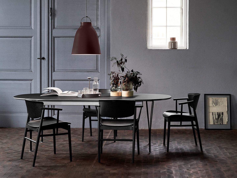 Fritz Hansen N01 Chair Black Oak Dining Nendo