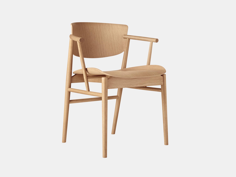 Fritz Hansen N01 Chair Oak Nendo