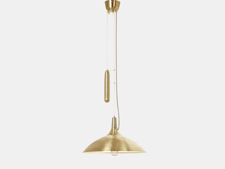 Gubi A1965 Pendant Light Brass Paavo Tynell