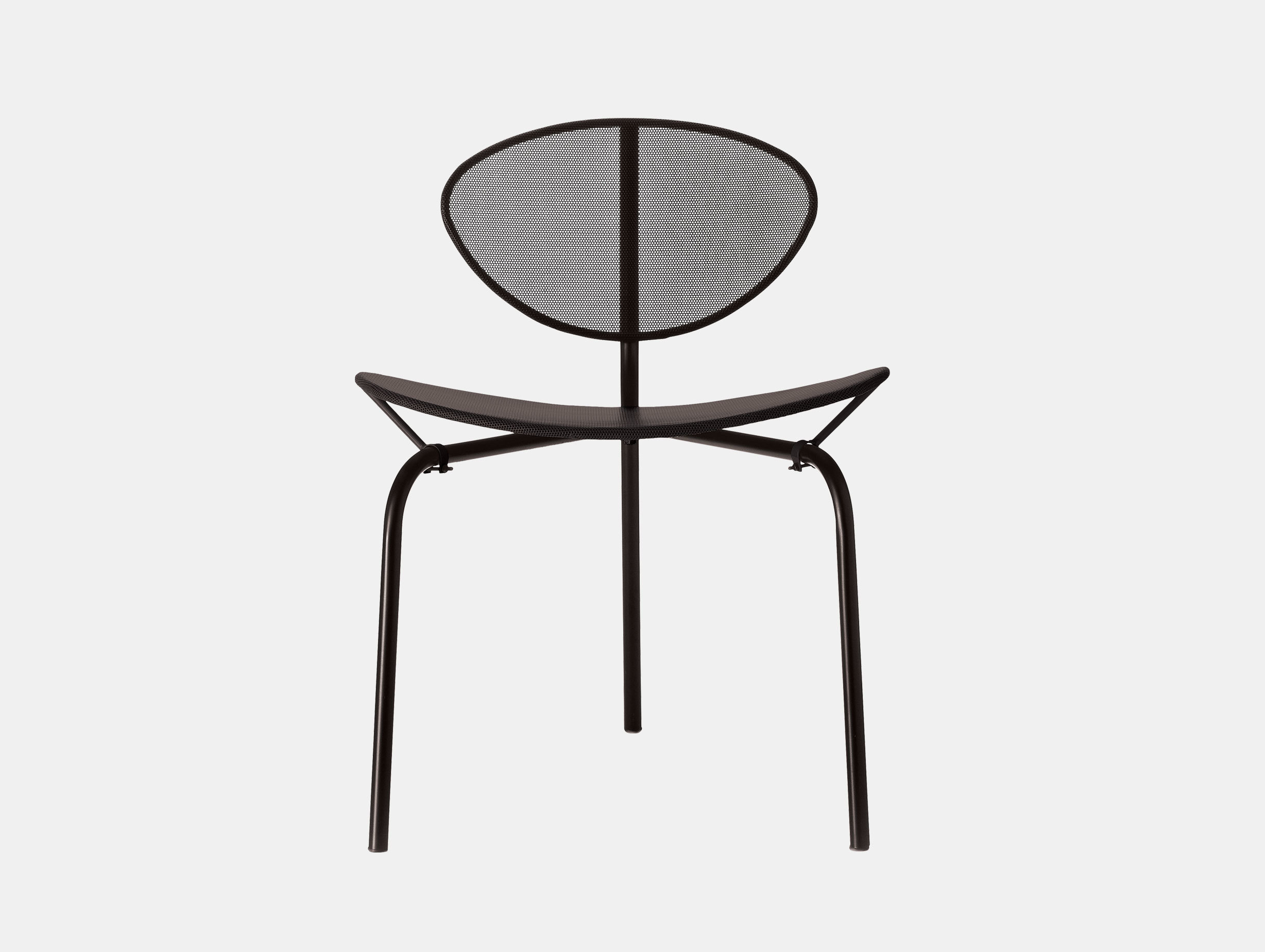 Gubi Nagasaki Dining Chair Black Mathieu Mategot