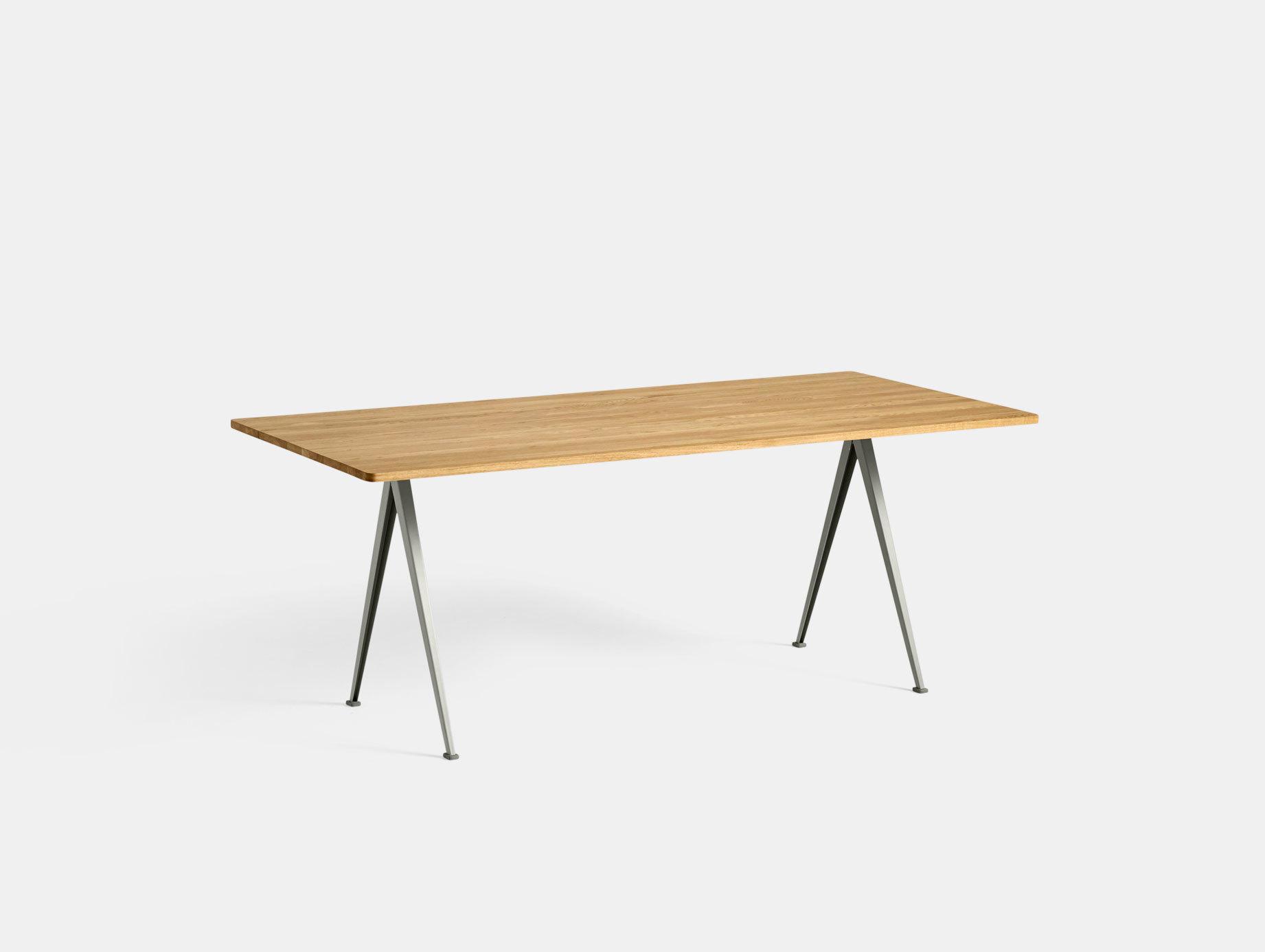 Hay Pyramid Table 02 Oak Beige L190 Wim Rietveld Friso Kramer