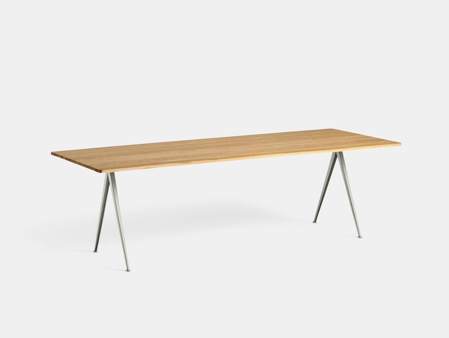 Hay Pyramid Table 02 Oak Beige L250 Wim Rietveld Friso Kramer
